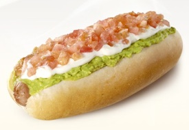 Completos (Chilean Hot Dogs)